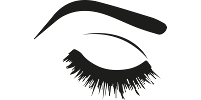 Eyelash extension dramatic